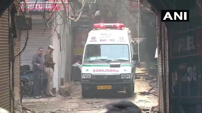 Delhi: 43 Dead As Massive Fire Breaks Out In Factory In Anaj Mandi