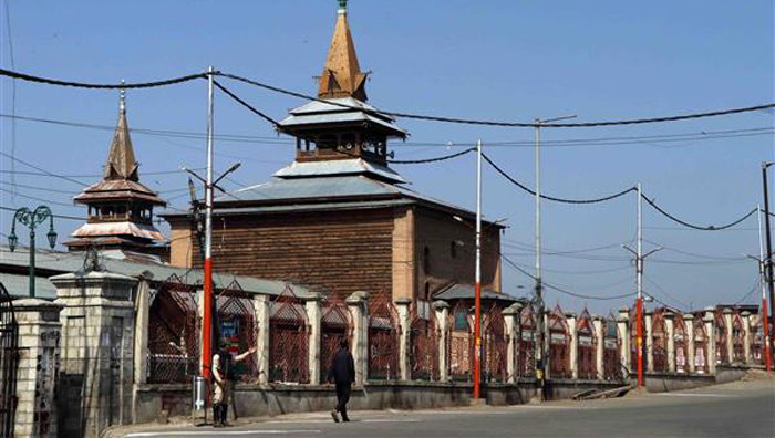 Srinagar's Jama Masjid finally opens for prayers