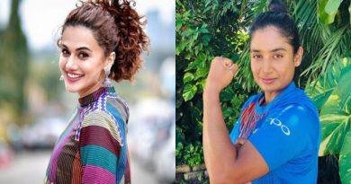 Taapsee Pannu to play Mithali Raj in biopic