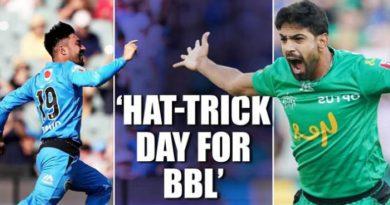 Pakistan's Haris Rauf bags hat-trick in BBL