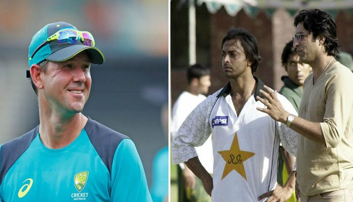 Ponting names Akram, Akhtar as best and quickest bowlers he faced