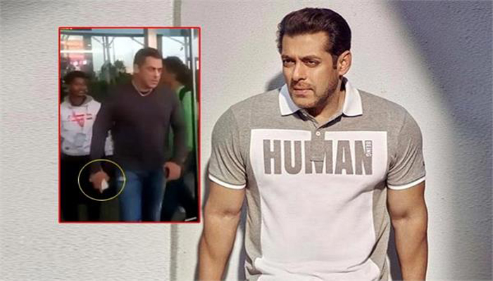 Salman Khan's Radhe's shoot in Goa in trouble post phone snatching video? NSUI seeks a ban till he apologises