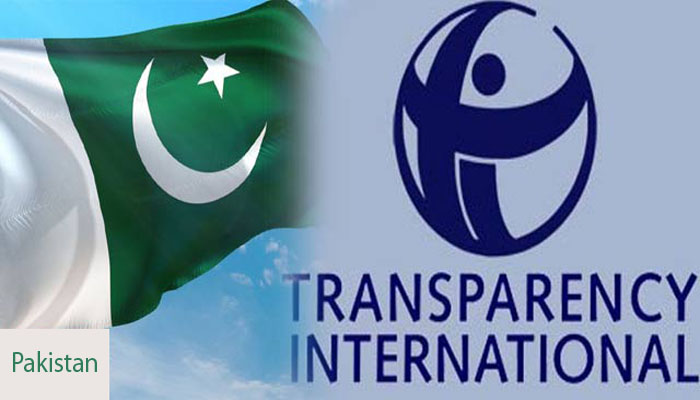 Transparency international report and Pakistani media