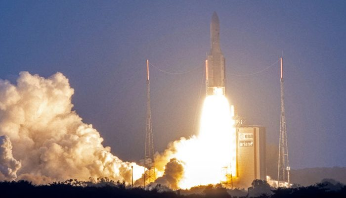 ISRO's GSAT-30 satellite launched, to replace ageing INSAT-4A