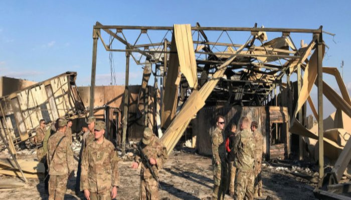 11 US troops wounded in last week's Iran attack on Iraq base