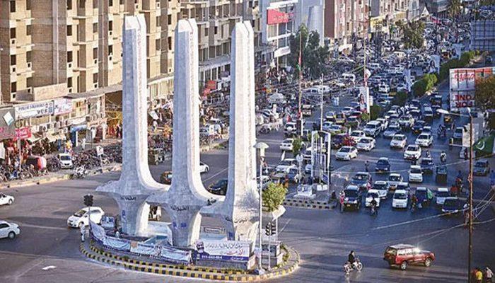 Karachi in a state of ruin
