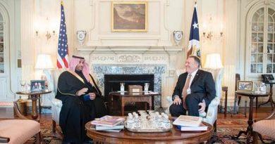 Saudi Arabia's Prince Khalid bin Salman meets with Pompeo, defense chief Esper