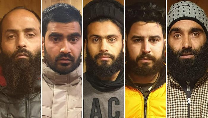 Jaish module busted, 5 terrorists held: J&K police