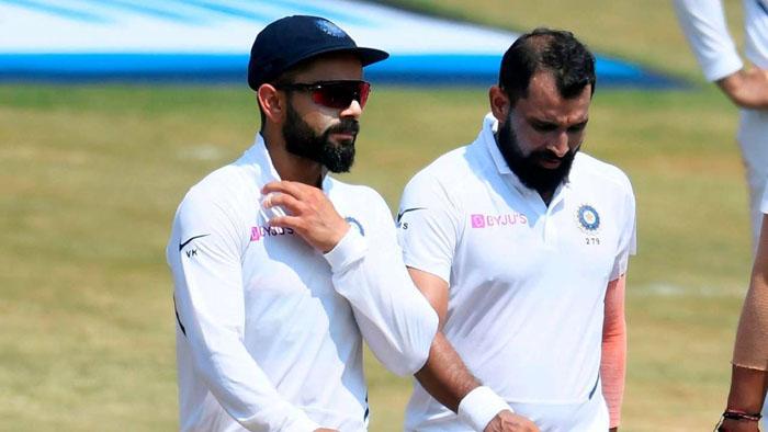 Kohli's second-worst Test sries with the bat