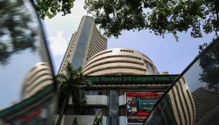 Sensex rolled down 2919.26 points