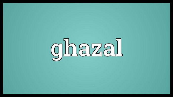 GHAZAL : Woh Bachcha tha man ka sachcha tha