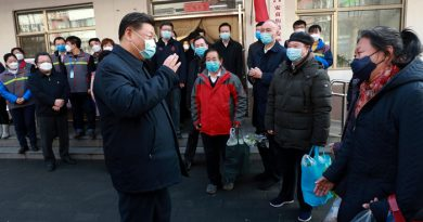 China reports 22 new coronavirus deaths, Xi makes first visit to epicentre Wuhan